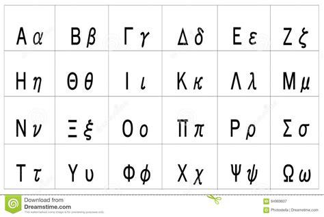 lettere greche minuscole pdf lettre alphabet grec