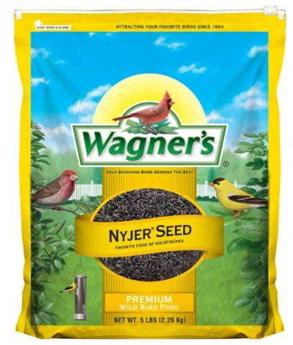 buy wagner s 62051 nyjer seed bird food 5 pound bag at 40