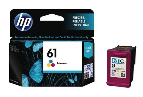 hp 61 color ink hp 61 tri color original ink cartridge ch562wa ch562wa