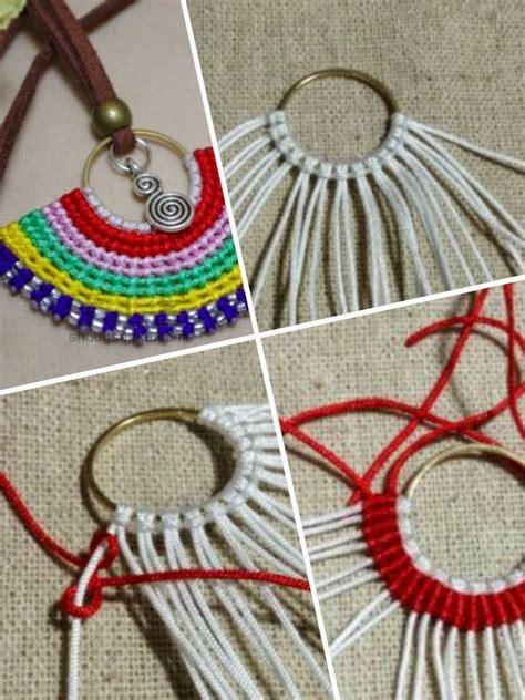 perlas de estambre manualidades pinterest enrhedando manualidades