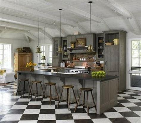 graue einbauküche wohnzimmer rot weiss schwarz