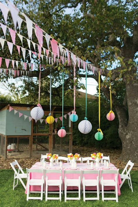 Backyard Birthday by 25 Best Ideas About Garden Birthday On