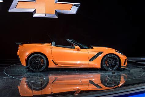 Zr1 Corvette Price by 2019 Corvette Zr1 Convertible Revealed In Los Angeles Gm