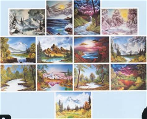 burst of woods of white volume 1 books bob ross of painting books