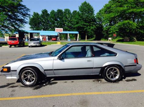 manual cars for sale 1984 toyota celica electronic toll collection purchase used 1984 toyota celica supra mkii p type automatic florida car in emmaus