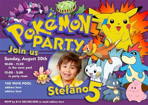 printable birthday invitations pokemon pokemon invitations template best template collection