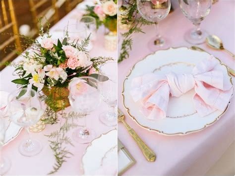 blush and gold wedding shoot inspired by caen