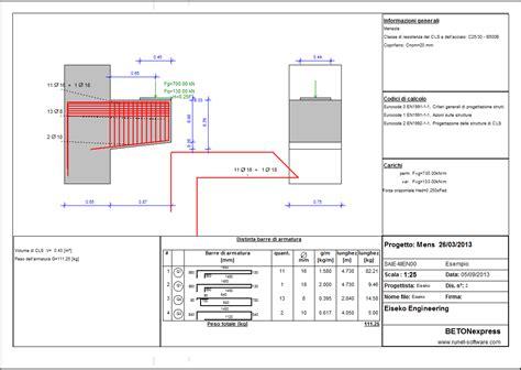 trave a mensola software calcolo strutture in cemento armato gt eiseko