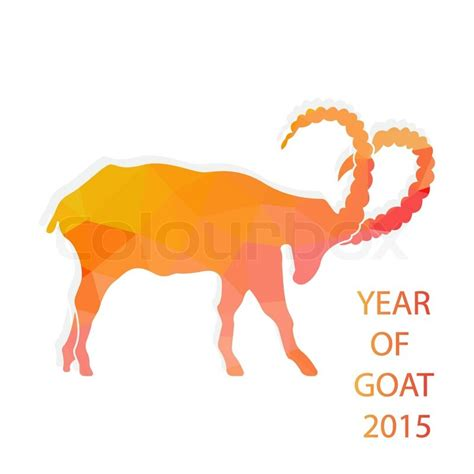 pattern of the year 2015 chinese new year 2015 goat with golden geometric pattern