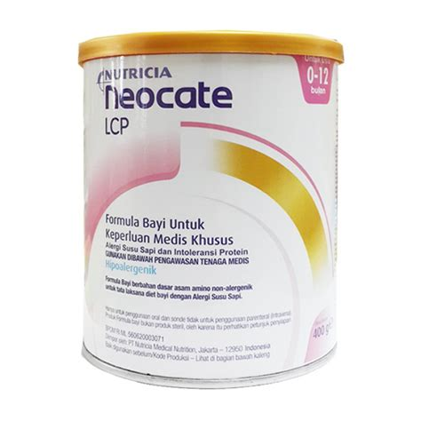 neocate gold lcp 400gr