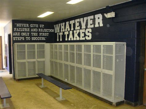 high school locker room design middle school football announcements and information