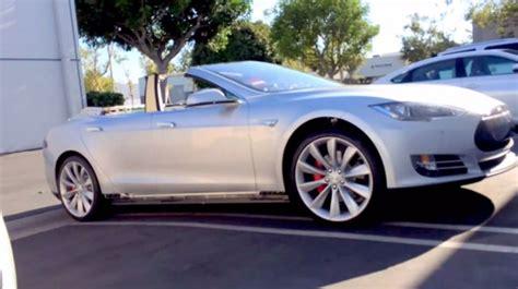 Tesla Model S Convertible Price Update Tesla Model S Convertible Went Up