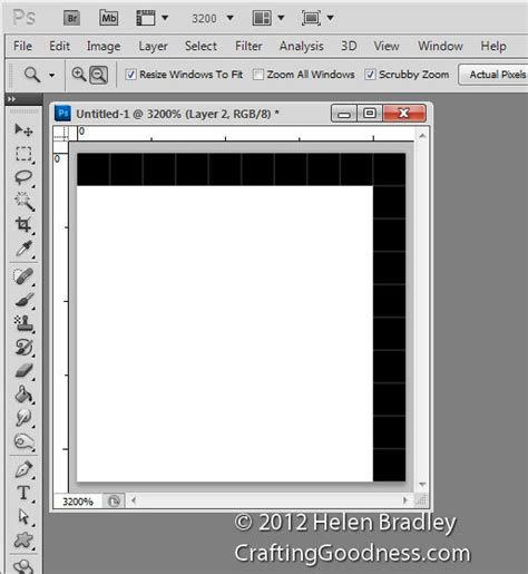 resize layout photoshop use photoshop to resize a knitting pattern crafting goodness