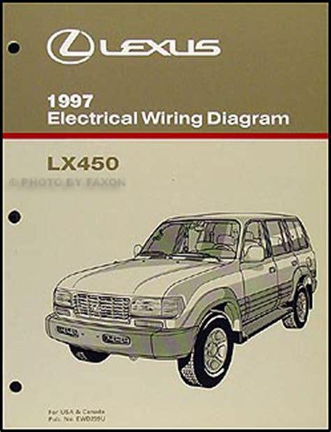 manual repair autos 1997 lexus lx on board diagnostic system 1997 lexus lx 450 wiring diagram manual original