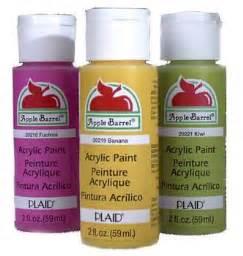 apple barrel acrylic paint on canvas acrylic paints bell
