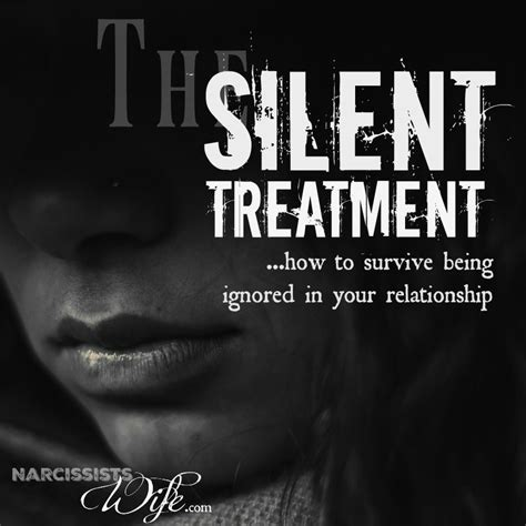 surviving a narcissist clay formation of a boy into a books silent treatment how to cope when your narcissist finally