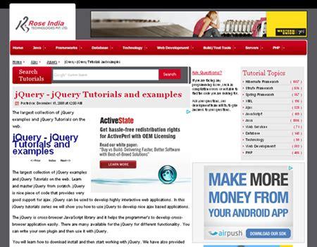 javascript tutorial roseindia great websites letting beginners to learn javascript