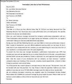 Cancellation Letter Due To Free Contract Termination Letter Due To Poor Performance Sle Templates