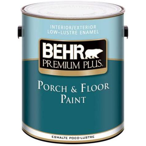 behr premium 1 gal medium base low lustre porch floor