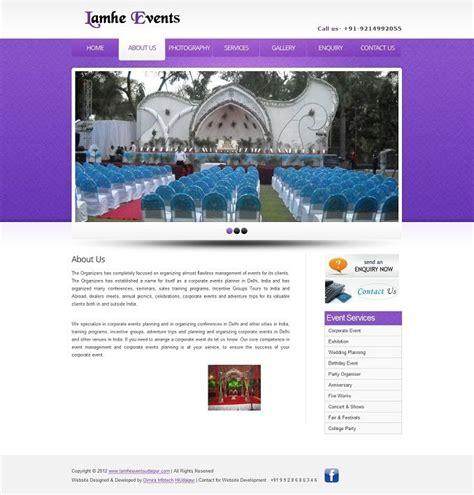 2 Free Event Management Website Templates Download Dimira Infotech Pinterest Event Event Website Template Free
