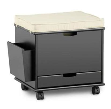 file cabinet ottoman craft home office rolling storage cart file cabinet