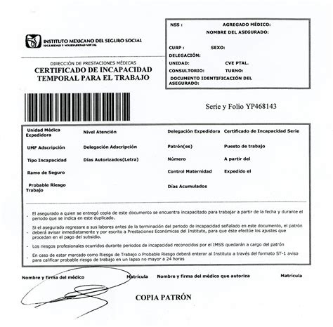 formato pago incapacidad cafesalud certificado m 233 dico de incapacidad temporal para trabajar idc