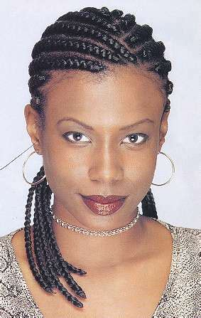 steps in how to cornrow invisible braidsusing extensions cornrows with extensions feed in method