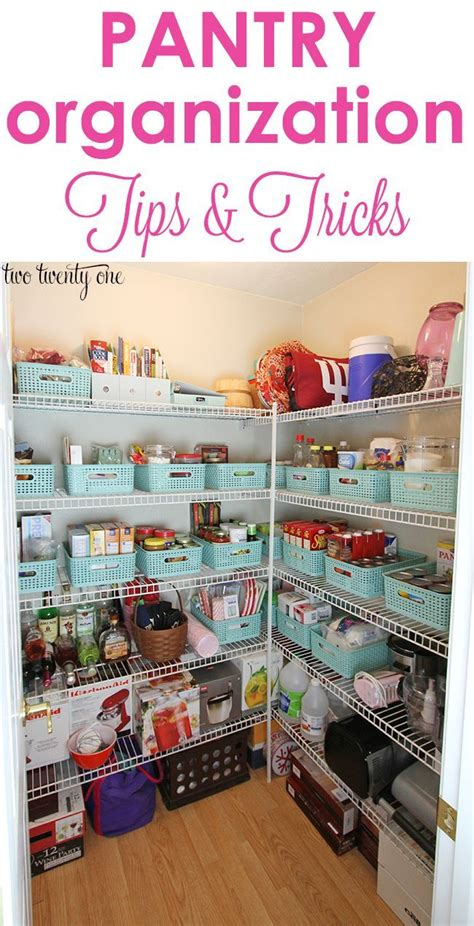 6 six tips to organize your pantry 15 brilliant tips for an organized pantry page 4 of 16