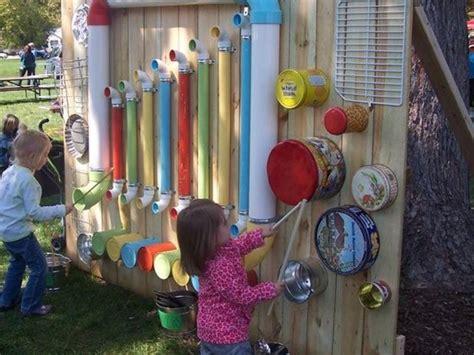 backyard instruments wonderful diy outdoor music wall station for kids