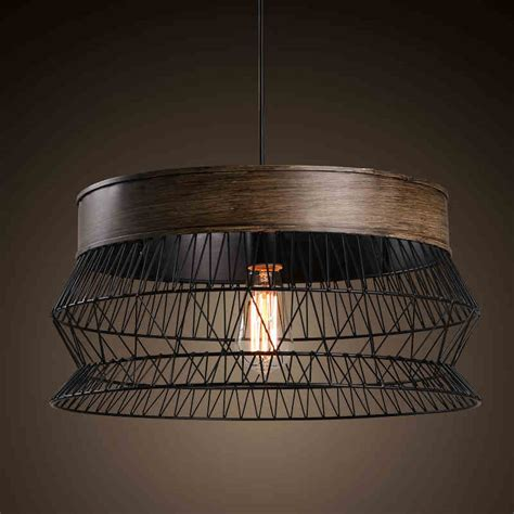 wrought iron foyer light countryside brid cage reticular wrought iron