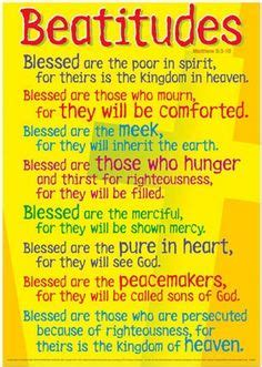 8 beatitudes and the works works of mercy 5 6 francis class blog