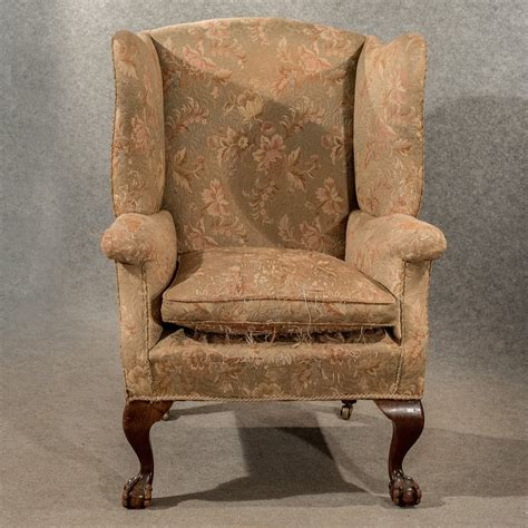 antique wingback chairs antique large wing armchair wingback fire side antiques