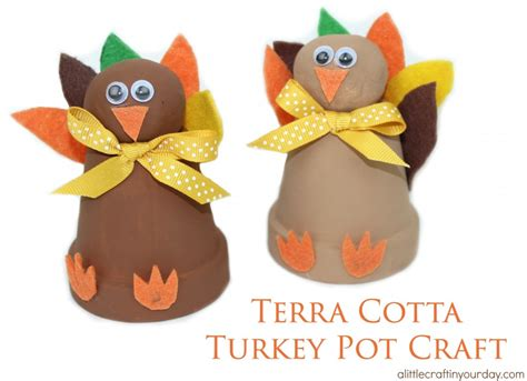 terra cotta crafts terra cotta turkey pot craft a craft in your day