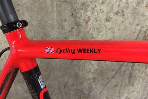 Namensaufkleber Bike by Pegatin Custom Stickers Review Cycling Weekly