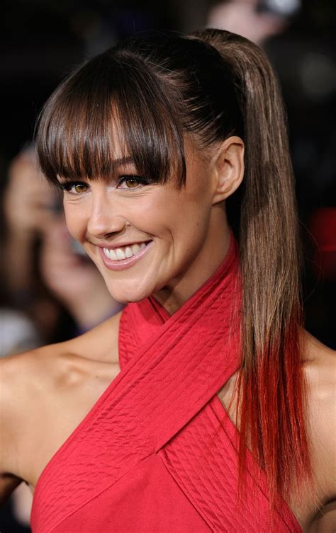 ponytail hairstyles no bangs 16 great hairstyles with bangs