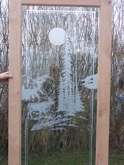 etched glass doors  premier doors millworks