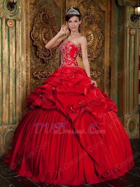crimson color dress unique crimson prom quinceanera dresses by top designer