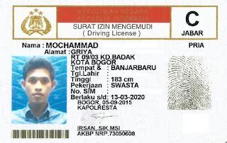 Membuat Sim C Jakarta | syarat membuat sim c yang perlu anda ketahui informasi umum