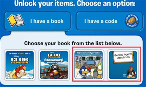 Reporter Club Penguin Book Codes by Archives Backuproom