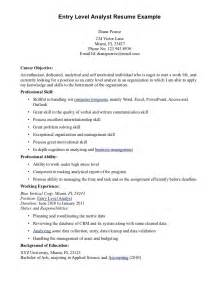Visa Officer Sle Resume by Resume Objective For Security Jianbochen