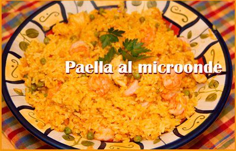 cucinare paella la paella al microonde ricetta facile e veloce