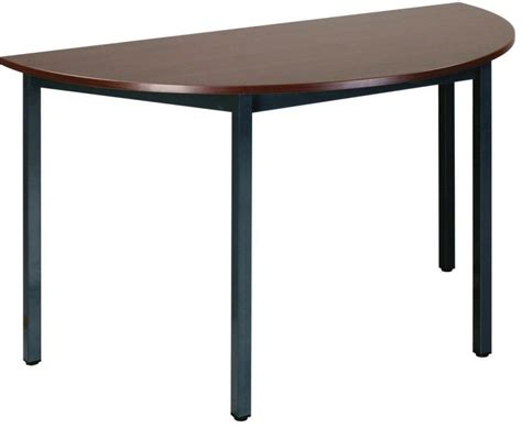 buro table cheap half moon tables buro 1200mm diameter