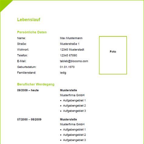 Lebenslauf Muster Modern Pdf Vorlage 35 Tabellarischer Lebenslauf
