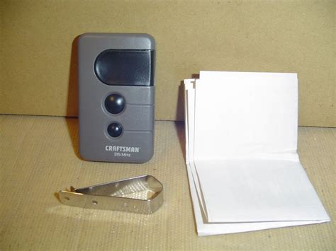 New Craftsman Sears Remote Garage Door Opener Remote 139 Sears Garage Door Remote Replacement