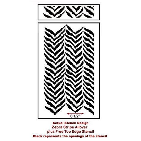 zebra pattern wall stencil 1000 images about zebra stripe allover stencil on