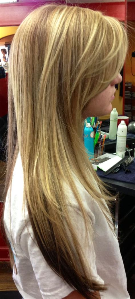 pictures of hair dark underneath honey blonde with dark blonde underneath my hairart