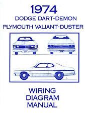 plymouth duster valiant wiring harness  dodge dart ebay