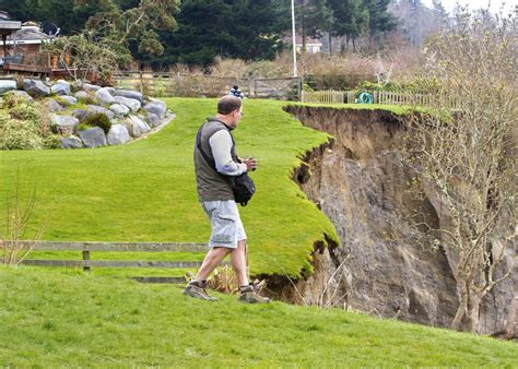 a whidbey island home is out of the box and grounded in nature big landslide on whidbey island the seattle times