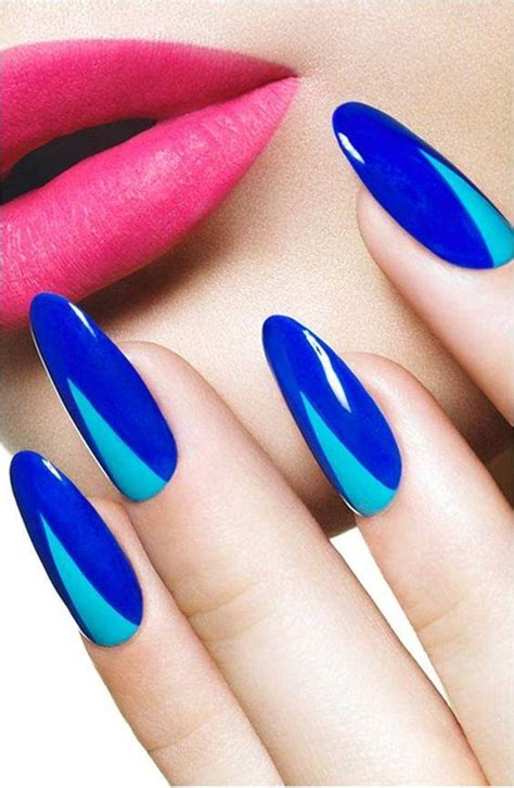 pointy nails art designs ideas design trends