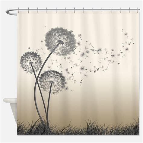 dandelion curtains white fluffy shower curtains white fluffy fabric shower